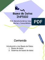 Bases de Datos y Sgbd