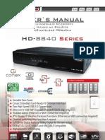 Usermanual Amiko HD-8840 en v121012