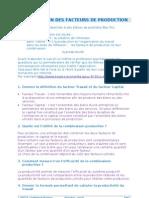2011 Appli Eco Combinaison Facteurs Production Corrige