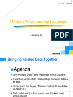Lecture-04 Bringing Related Data Together ADO.net