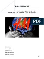 Issue Management/Public Relations Plan