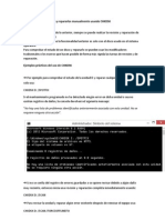 Detectar Errores de Disco y Repararlos Manualmente Usando CHKDSK