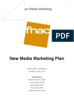 New Marketing Media Plan