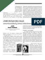 Artículo sobre José Cecilio del Valle