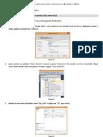 Tutorial 01 Construindo Banco de Dados SQL Server 2012