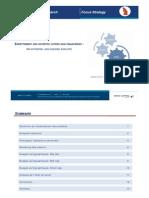 Endettement des sociétés cotées non financières S1 2012 - http://www.metrecarre.ma