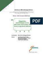 cap25 Diagnóstico microbiológico de las infecciones bacterianas del tracto respiratorio inferior