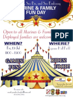 2013 Fun Day with HQ&SVC Bn Flyer