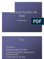 Baze de Date - Generalitati