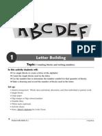 Letter Building