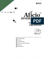 Ricoh Aficio 2015 - Operating Instructions