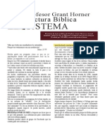 professor grant horners bible reading system ESPAÑOL
