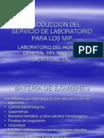 Introduccion Del Servicio de Laboratorio Para Los Mip Copia