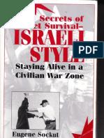 Secrets of Street Survival Israeli Style Sockut