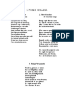 A.poezii de Iarna