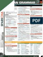 Spark Charts - German Grammar
