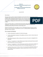 Letter from ICE Council Opposing Immigration Bill