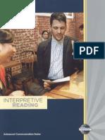 TM - Interpretive Reading Rev5 2011