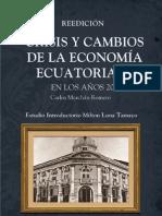 Crisis y Cambios de La Economia Ecuatoriana