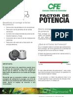 Factor de Potencia 1