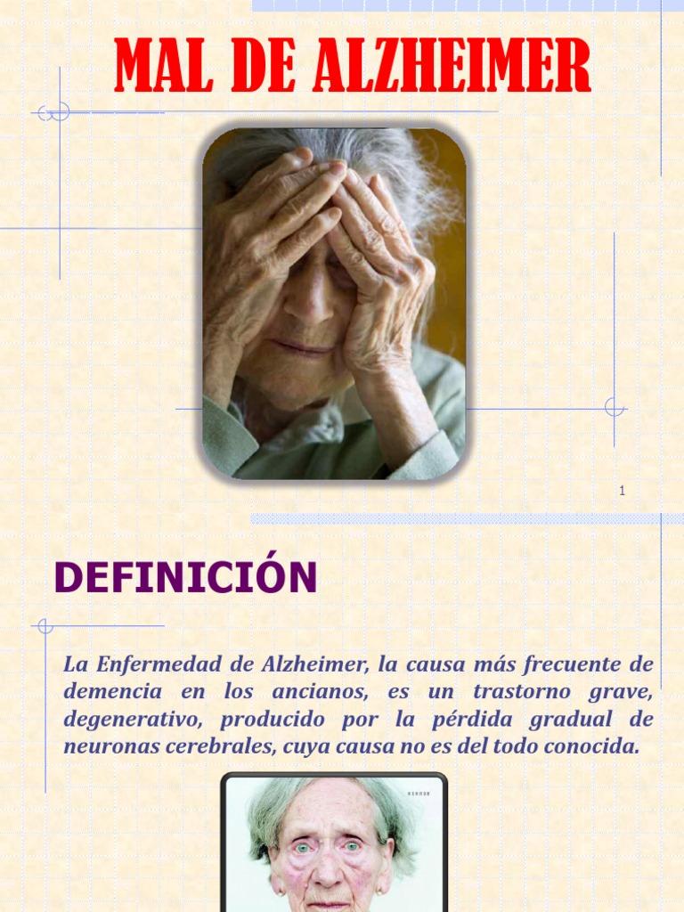 la demencia senil es igual que alzheimer