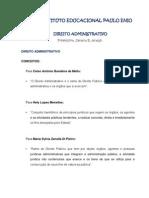 IEPE - Direito Administrativo e Constitucional - Resumos Das Aulas 1 e 2