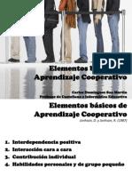 Elementos básicos de Aprendizaje Cooperativo