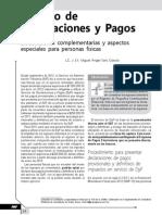 Servicio de Declaraciones y Pagos. Declaraciones complementarias y aspectos especiales para personas físicas