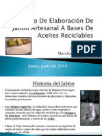 Proceso De Elaboración De Jabón Artesanal A Bases