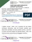 O GÊNERO FOLDER COMO AGENTE MEDIADOR DE INFORMAÇÕES NUTRICIONAIS