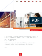 La formation professionnelle en Europe cegos