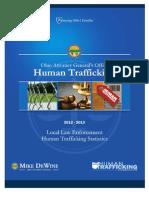 Local Law Enforcement Human Trafficking Statistics