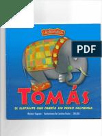 Tomás el elefante que quería ser perro salchicha