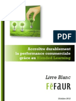 Accroître durablement la performance commerciale grâce au Blended Learning  Féfaur