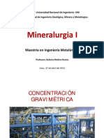Mineralurgia Clase 8