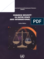 D. Volter Common Security in Outer Space
