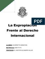 La Expropiacion Frente Al Derecho Internacional