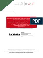 Sanchez Et Al 2011. La Pertinencia de La Estrategia de Operacion Del PP en El Contexto de La Extension-Extensionismo