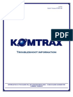 2009-10-20.PDF; KOMTRAX Troubleshoot Guide_68411