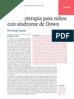 Farmacoterapia Para Personas Con Sindrome de Down
