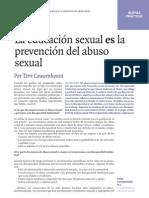 La Educacion Sexual Es Prevencion Del Abuso Sexual