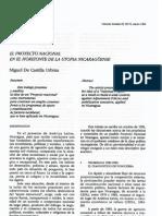 Castilla - El proyecto nacional en el horizonte de la utopía nicaragüense