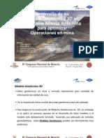 Desarrollo de Un Modelo Geotecnico 3d en Antamina Para Optimizar Operaciones en Mina