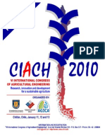 Call for Papers Ciach 2010