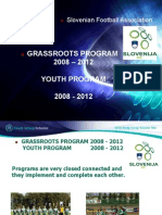 UEFA Study Group Report - Slovenia 2012