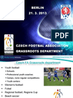 UEFA Study Group Report - Czech Republic 2013