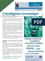 Focus Intelligence Economique Les Echos JUIN 2009