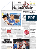 02/02/09 The Stanford Daily [PDF]