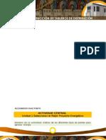 Consideraciones Eléctricas – Actividad Central.