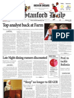 02/03/09 The Stanford Daily [PDF]